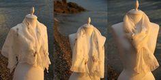 Felt white shawl White Shawl, Game Of Thrones Characters, Creations, Felt, Felting, Feltro