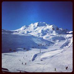 Skiing in Ischgl (Austria)