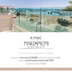 A MARE MARZAMEMI la tua casa di fronte al mare in uno dei borghi più belli d'Italia