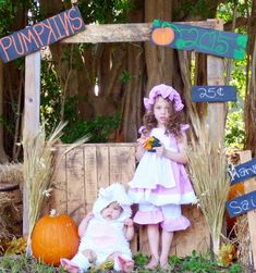 Halloween. Pumpkin Patch Pictures. Little Bo Peep and her Sheep.