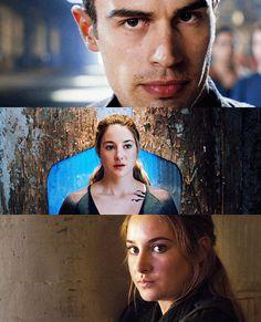 Divergent - Four Tris Divergent Theo James, Divergent Four, Divergent Fandom, Divergent Trilogy, Divergent Quotes, Tris Und Four, Theodore James, Divergent Insurgent Allegiant, Veronica Roth