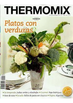Revista thermomix nº41 platos con verduras