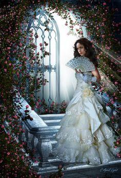 Light+in+Her+Rose+Garden+by+AprilLight.deviantart.com+on+@deviantART