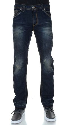 Affliction Men's Ace Straight Leg Jean Size 34 in Knoxville NWT #Affliction #ClassicStraightLeg