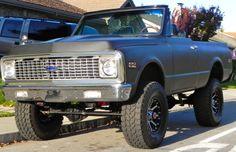 1972 Blazer EEEEEEE!!!