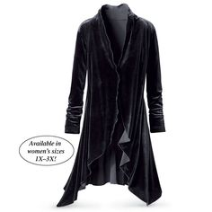 Midnight Velvet Jacket - Gifts, Clothing, Jewelry, Home Decor and Home Furnishings as Featured in Popular Catalogs | Catalog Favorites