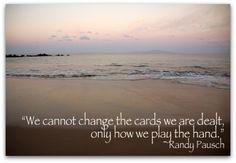 Life Cards - Randy Pausch