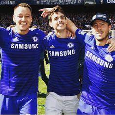 CHAMPIONS! #ChelseaFC #JohnTerry #Oscar #EdenHazard