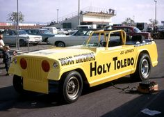 Holy Toledo Jeep Funny Car _____________________________ Reposted by Dr. Veronica Lee, DNP Depew/Buffalo, NY, US
