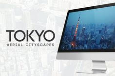 44 Tokyo Aerial Cityscapes by sparklestock