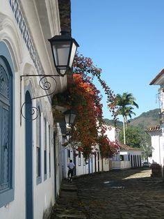 Street of Paraty, RJ,  Brazil