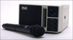 ALTAVOZ MONITOR AN30  Altavoz con micrófono inalambrico.  potencia de 101db.  Ideal para presentacion con proyector d eunas 100 personas.