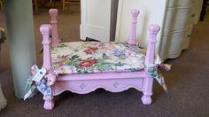 Pink dog bed.  SOLD