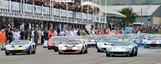 Goodwood Revival 2013 - Ford GT40 Race