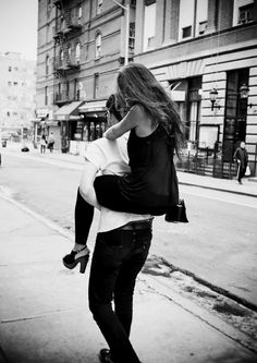 piggy back rides are the best. they never fail.