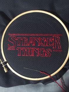 Stranger Things Cross Stitch