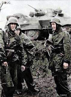 Poteau, Belgium - 18th Dec 1944,