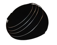 Vintage Halston Hat  Space Age 70s by MadgesHatBox on Etsy, $175.00
