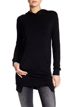 Long Sleeve Hoodie by Go Couture on @nordstrom_rack