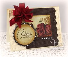 Beautiful card.  Sadly, I don't knowwhat blog as the link doesn't go there.