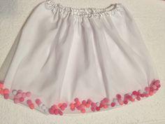 A personal favorite from my Etsy shop https://www.etsy.com/ca/listing/244846454/chiffon-pompom-tutu-skirt