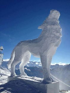 Epic snow sculptures in time for the holidays Photos) Snow Sculptures, Sculpture Art, Sculpture Ideas, Winter Fun, Winter Snow, Ice Art, Snow Art, Snow And Ice, Winter Pictures