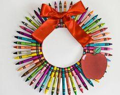 Crayon guirnalda - medio