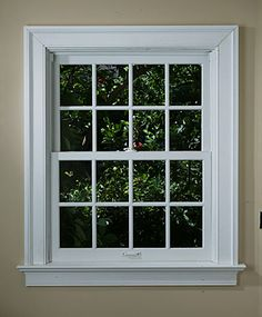 examples of window trim | Trimming a window correctly is one job that begins with good design ...