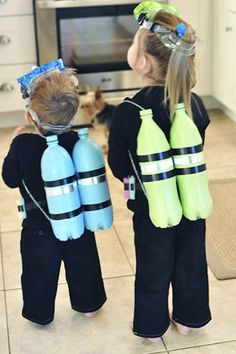 10 Crazy-Clever Halloween Costumes You Can Make for Kids via @PureWow