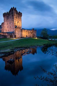 Castello di Ross by Federica Violin, via 500px - Killarney, Ireland. | Trust me i am a TROLL
