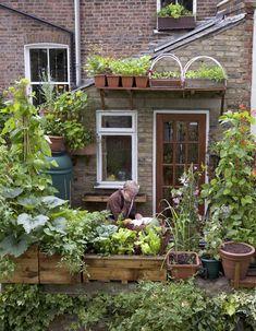 balcony garden via w