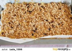 Vločkový koláč s jablky recept - TopRecepty.cz Macaroni And Cheese, Cheesecake, Ethnic Recipes, Food, Mac And Cheese, Cheesecakes, Essen, Meals, Yemek