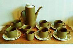 Mid century modern coffee set for six Mid century tea set J
