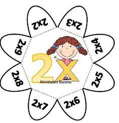Muro Math Games, Preschool Activities, 6 Times Table Worksheet, Maths Puzzles, Phonics Worksheets, Family Crafts, Preschool Math, Math For Kids, Interactive Notebooks