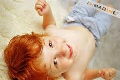 redhead baby