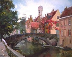 Poetry of Bruges, Peerdenbrug,  the Baranovs