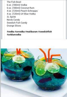 Fish bowl drink (: