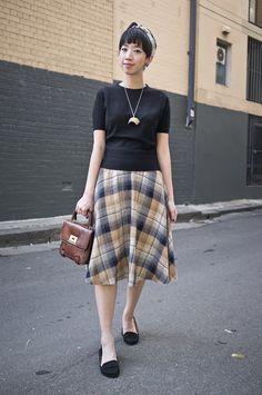 NoraFinds   Vintage Fashion Blogger Sydney   Hell Bunny Gabriel Dress