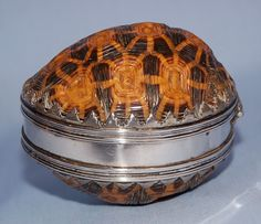 Early 18th Century Dutch Cape Tortoise Shell & Silver-mounted Snuff Box - Art Curator & Art Adviser. I am targeting the most exceptional art! See Catalog @ http://www.BusaccaGallery.com
