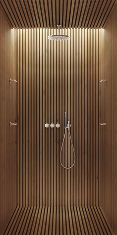 33 Ideas for bath room shower floor ideas woods Shower Fittings, Interior Minimalista, Cheap Bathrooms, Luxury Bathrooms, Modern Shower, Wood Slats, Wood Slat Ceiling, Wood Slat Wall, Wood Ceilings