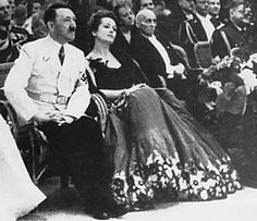 1939, Hitler with Olga Chekhova