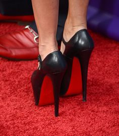 ***Celebrities in their Louboutins*** POST PICS HERE - Page 16 - PurseForum