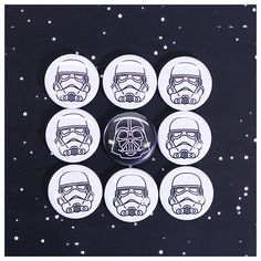 The Button Vending Machine is Filled with Familiar Faces Light Side, Dark Side, Power To The People, Star Wars, Buttons, News, Blog, Starwars, Blogging