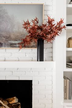 Enjoy an instant fall home decor refresh with artificial fall leaves. Style your mantle with a pop of color with these fake Japanese red maple leaves. Shop artificial fall leaves and holiday florals at Afloral.com.