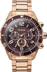 Breeze Crystals Rose Gold Stainless Steel Chronograph 210101.5