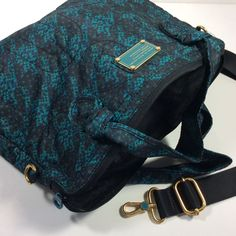 Marc by Marc Jacobs Womens Briefcase Messenger Bag Parakeet Multi | eBay