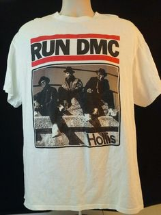 RUN DMC Hollis shirt size XL