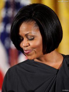 michelle+obama | Accueil / Michelle Obama / Michelle Obama et son lissage parfait