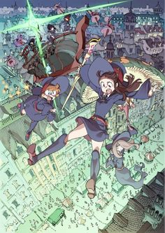 little witch academia 2 - Google Search