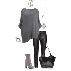"""Living on the edge- plus size"" by gchamama on Polyvore"